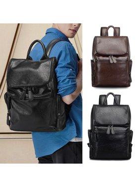 b44a27673c Product Image Hot Sale Vintage Men Leather Backpack Laptop School Shoulder  Bag Travel Rucksack Satchel