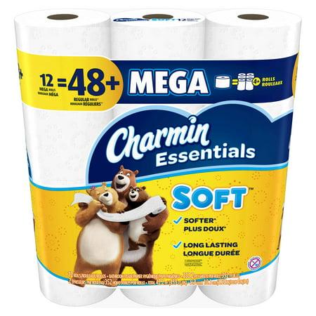 Charmin Essentials Soft Toilet Paper, 12 Mega Rolls - Halloween Toilet Paper Mini Album