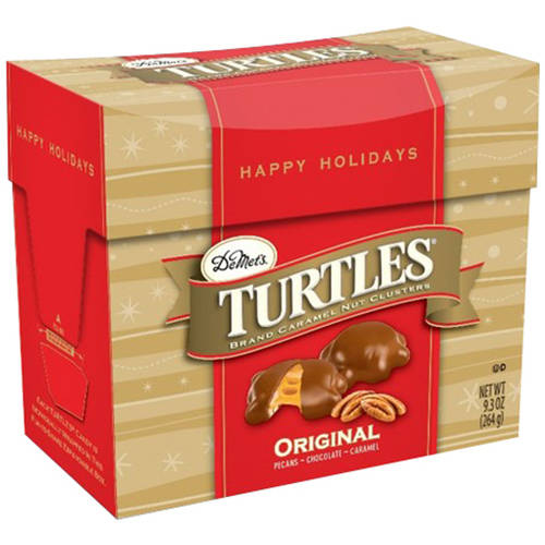 Turtles Original Candy Holiday Gift, 9.3 oz