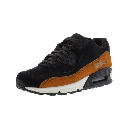 Nike - Nike Women s Air Max 90 Lx Tar   - Black Cider Ankle-High Leather  Running Shoe 9M - Walmart.com 36b8a9c33
