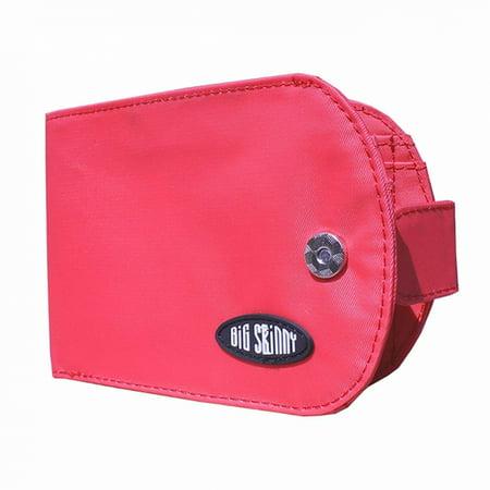 Big Skinny Taxicat Bi-Fold Wallet - RFID BLOCKING - Coral Pink ()