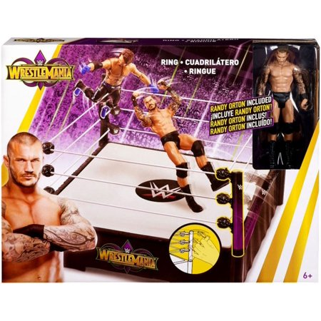 WWE Wrestling Wrestlemania Ring Playset [Includes Randy