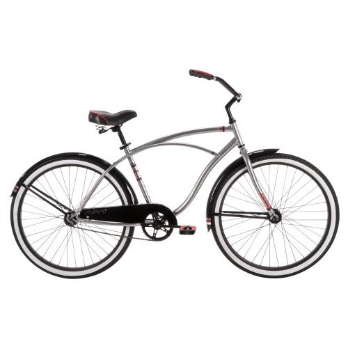Huffy Good Vibration 26 in. Classic Cruiser - Silver