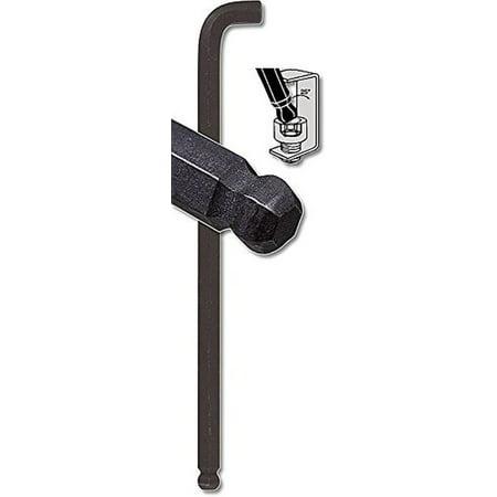 Bondhus 16512 Tag&Barcode Long Arm Stubby Ball End Hex Key L-Wrench,ProGrd,1/4