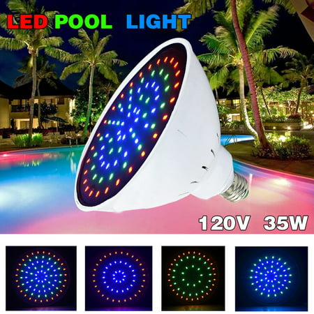 12V 35W Pool Light LED Color Changing Replacement Swimming Pool Bulb ...