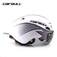 CAIRBULL Stylish Adult Road Bike Helmet Adjustable Sport Cycling Helmet Bicycle Helmets Safety Protection with Goggle Lens