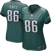 Zach Ertz Philadelphia Eagles Nike Women's Game Player Jersey - Midnight Green