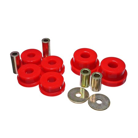 Energy Suspension 19.1105R Differential Mount Bushing  Red; Polyurethane - image 1 de 1