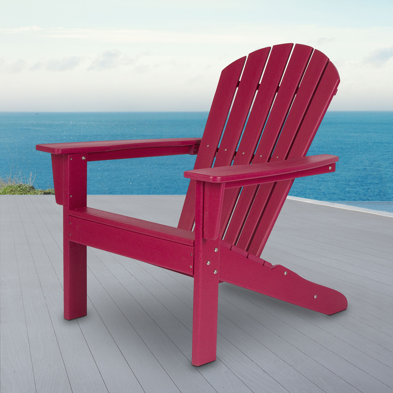 Seaside Adirondack Chair - Chili Pepper