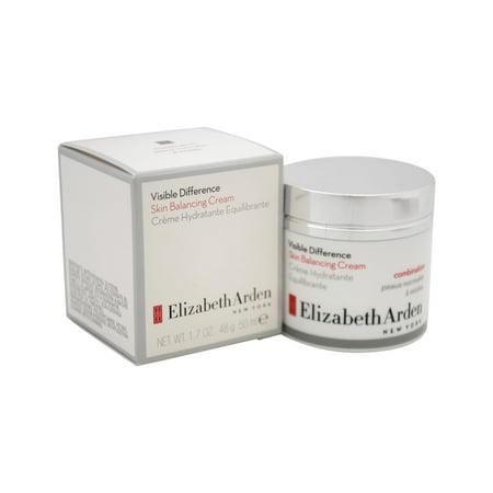 Visible Difference Skin Balancing Cream By Elizabeth Arden For Women   1 7 Oz Moisturizer