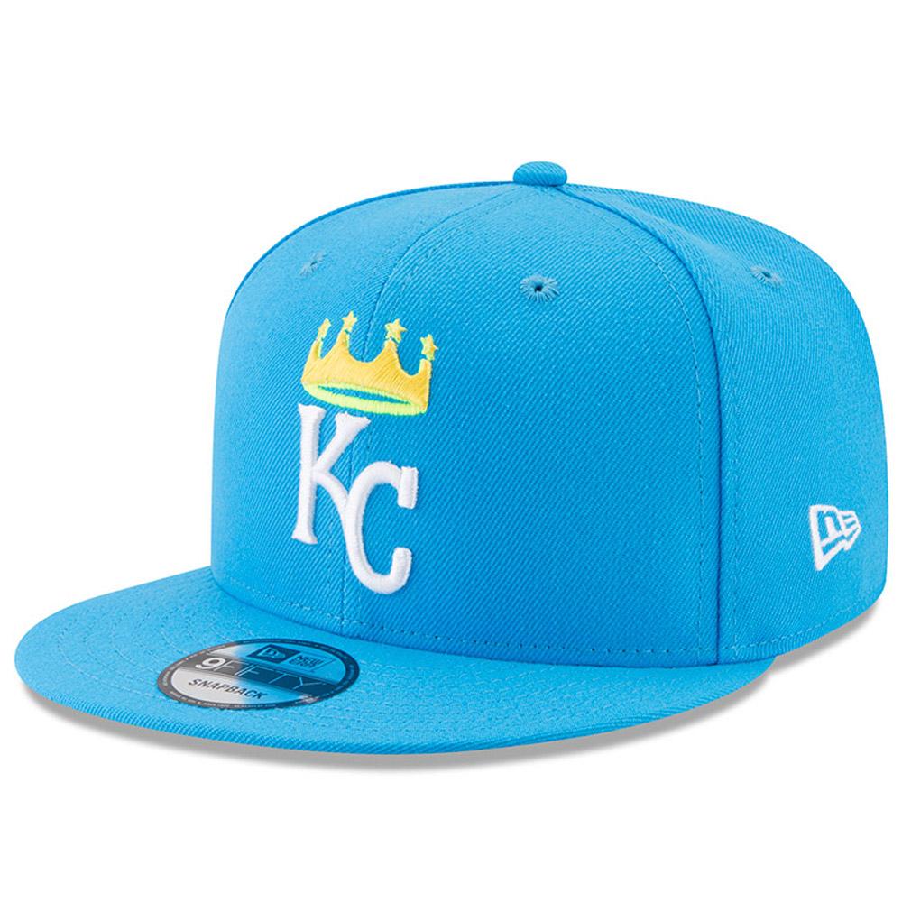Kansas City Royals New Era 2017 Players Weekend 9FIFTY Snapback Hat - Blue - OSFA