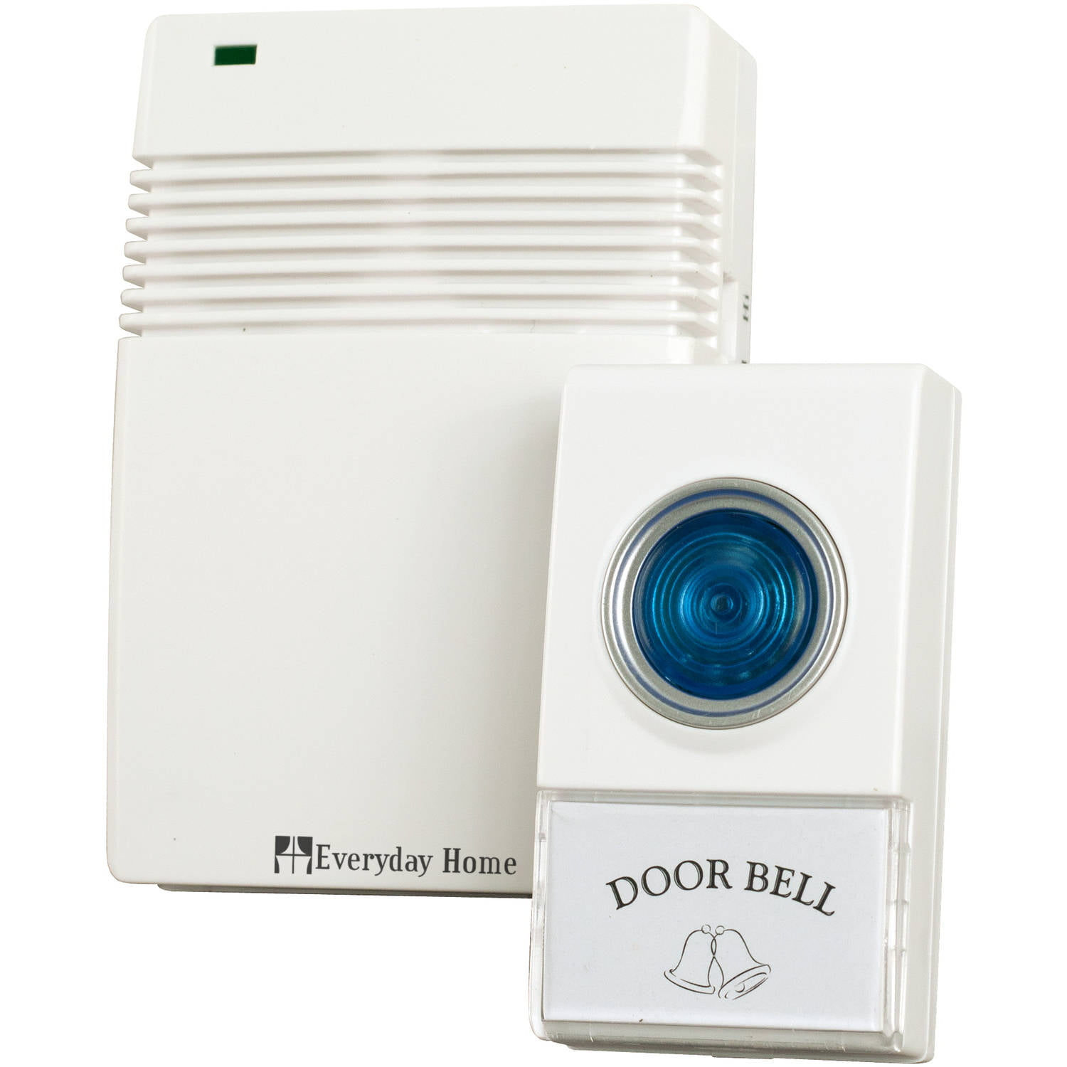 Bon Etekcity Plug In Wireless Doorbell Kit: 1000 Feet, 52 Chimes, 4 Level  Volume   Walmart.com