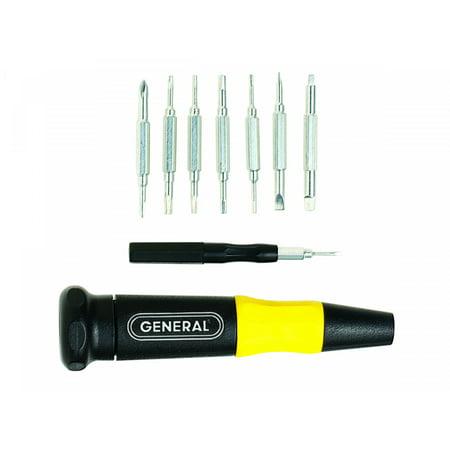 General Tools 751016 Sixteen-Piece Screwdriver Set