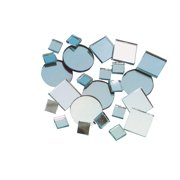 School Specialty Mirror Square Circle Mosaic Tile, Assorted Size, Pack of 150
