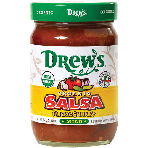 Drew's Thick & Chunky Mild Salsa, 12 oz (Pack of 6) by Generic