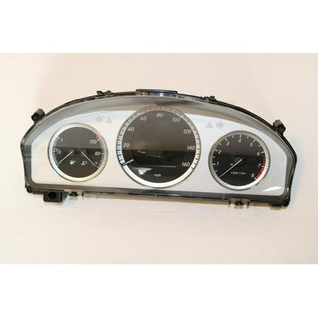 Mercedes Instrument (12-12 Mercedes GLK350 Instrument Cluster Speedometer Gauge 39,163 #47820 )