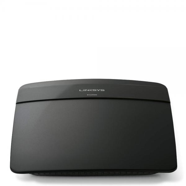 Linksys N300 Wi-Fi Wireless Router with Linksys Connect Including Parental Controls & Advanced Settings (E1200) by Linksys
