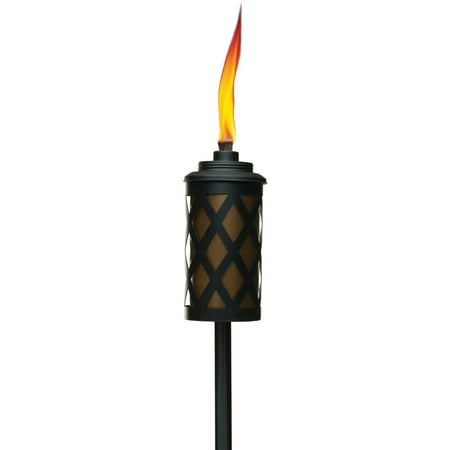 TIKI Brand 60-inch Urban Metal Torch with Easy Pour System Copper - 1116037