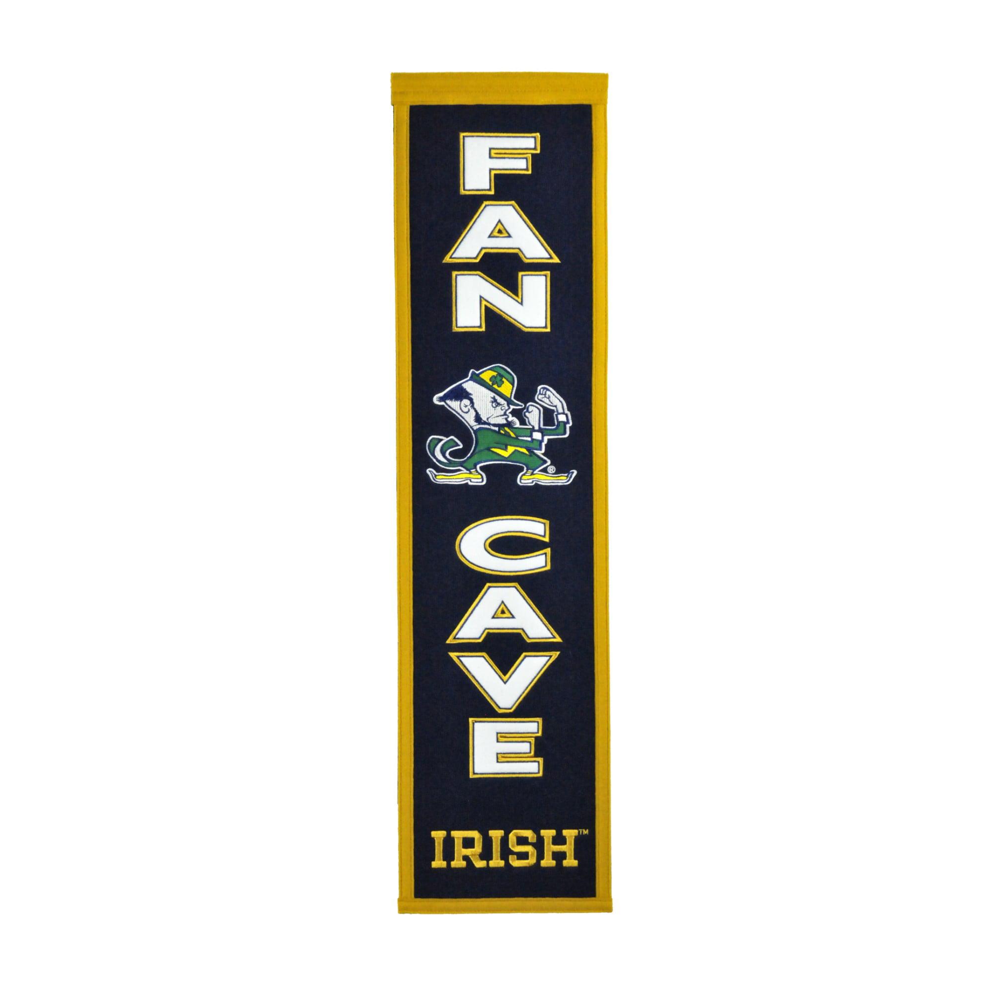 Winning Streak - NCAA Man Cave Banner, Notre Dame Fighting Irish