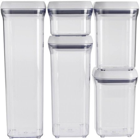 Oxo Food Storage (Oxo Good Grips Assorted Pop Container Set 10)