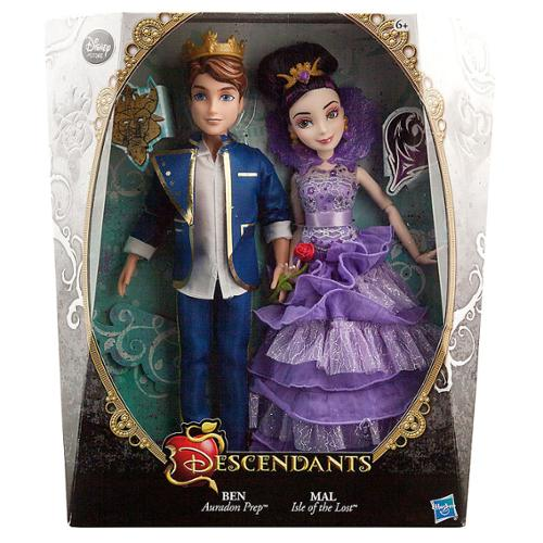 "Disney Descendants Ben & Mal Exclusive 11"" Doll 2-Pack [Coronation] by"
