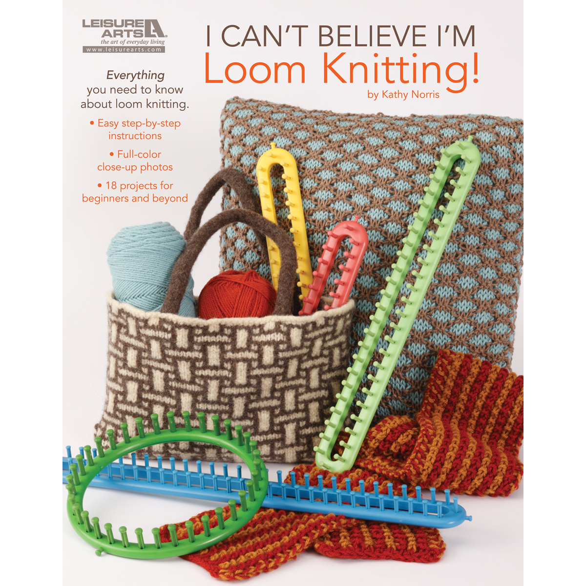 Leisure Arts Can't Believe I'm Loom Knitting Book