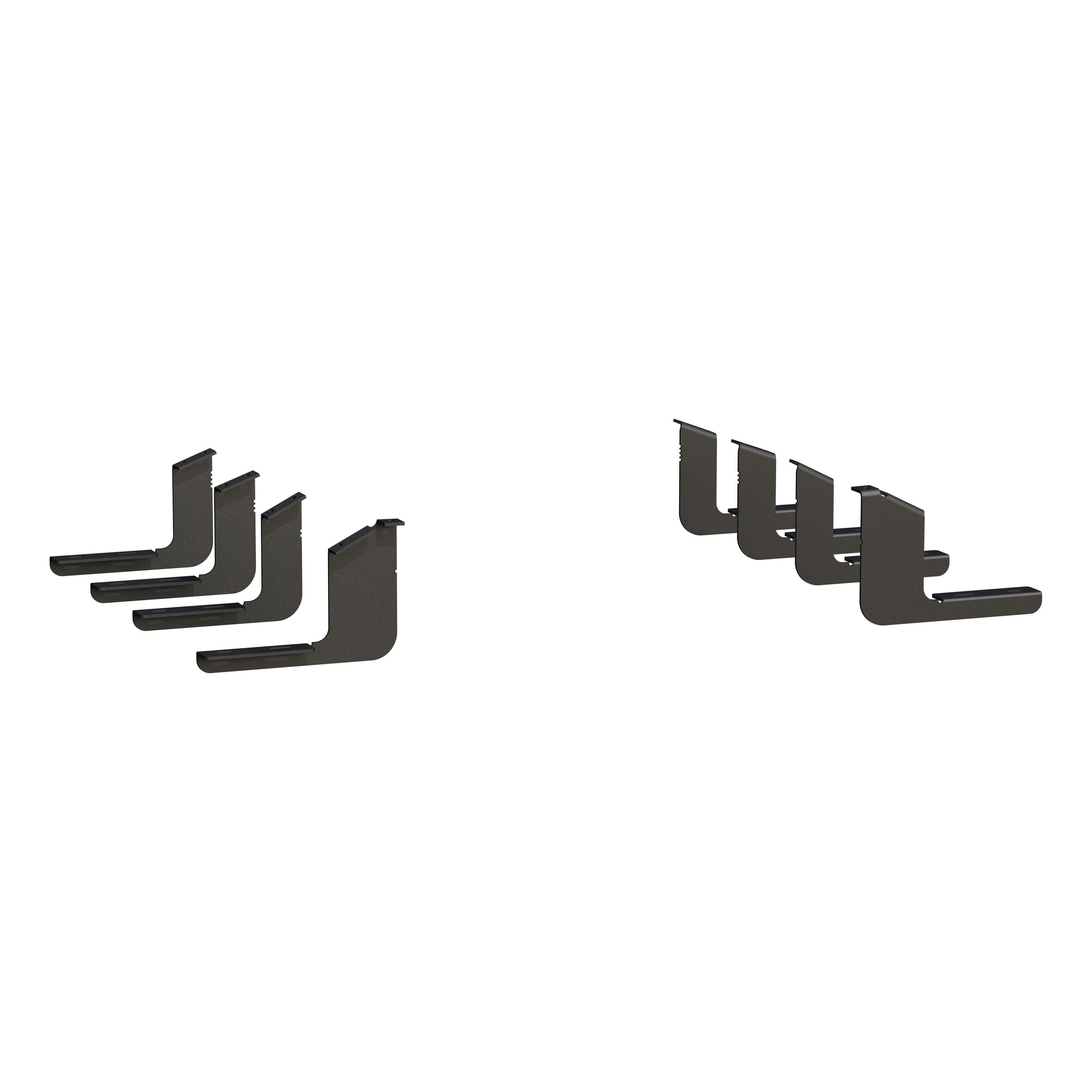 Luverne 400752 Running Board Mounting Kit  Rocker Panel Mount; For Grip Step Boards And Regal 7 Bars - image 1 de 1
