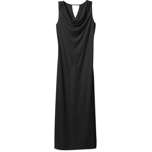 In The Mix Cowl Neck Twisted Back Maxi Dress