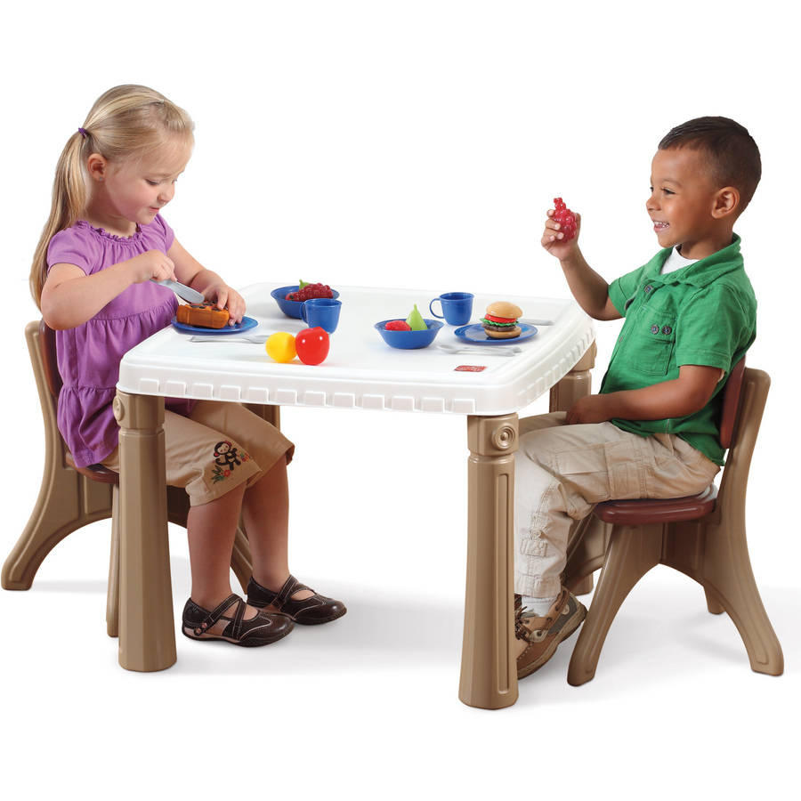Step2 LifeStyle Kids Table and 2 Chairs Set Multiple Colors  sc 1 st  Walmart & Step2 LifeStyle Kids Table and 2 Chairs Set Multiple Colors ...
