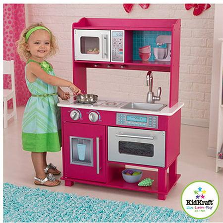 Fine Play Kitchen Gracie Wooden Throughout Design Inspiration