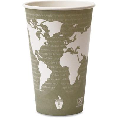 Eco-Products World Art Hot Beverage Cups ECOEPBHC16WA