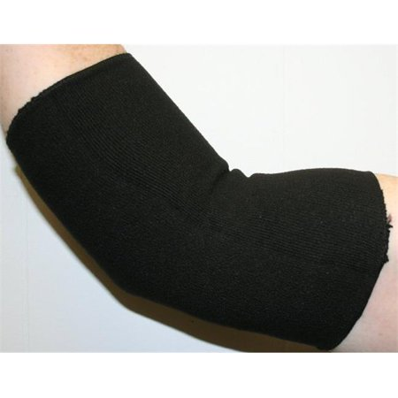 Indogem 736276U Copper Yarn Full Arm   Elbow Compression Sleeve  44  Black   Universal