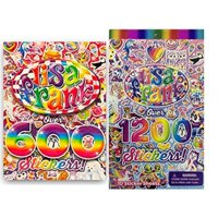 Lisa Frank 600 Stickers and 1200 Stickers