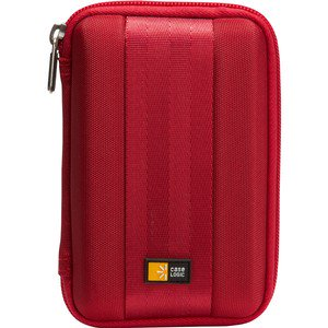 Case Logic QHDC-101 Portable Hard Drive Case - Ethylene Vinyl Acetate (EVA) Red ()