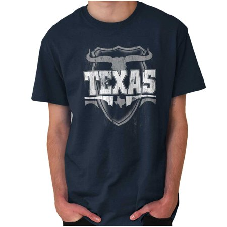 Brisco Brands Texas Lone Star Game Day Gift Short Sleeve Adult T-Shirt