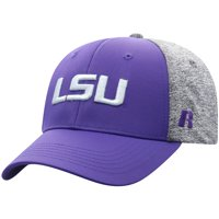 Men's Russell Athletic Purple/Gray LSU Tigers Bracket Adjustable Hat - OSFA