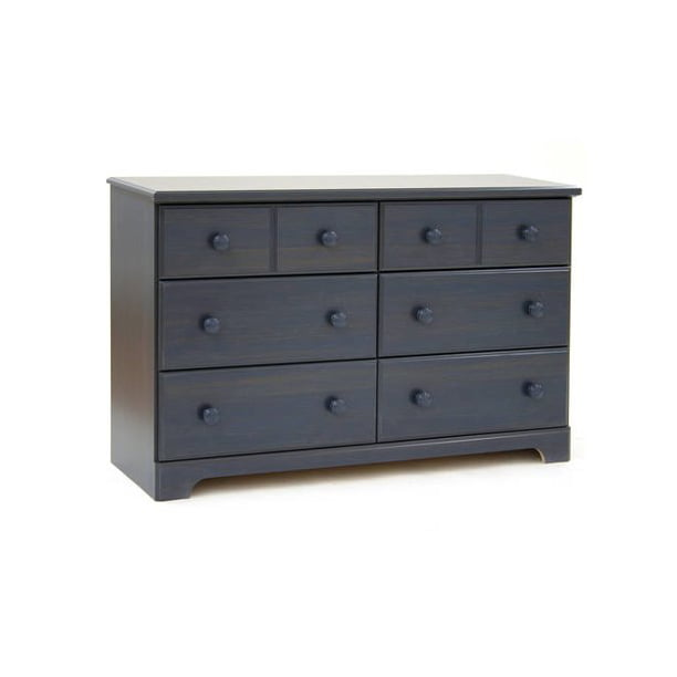 South Shore Summer Breeze 6-Drawer Double Dresser, Multiple Finishes