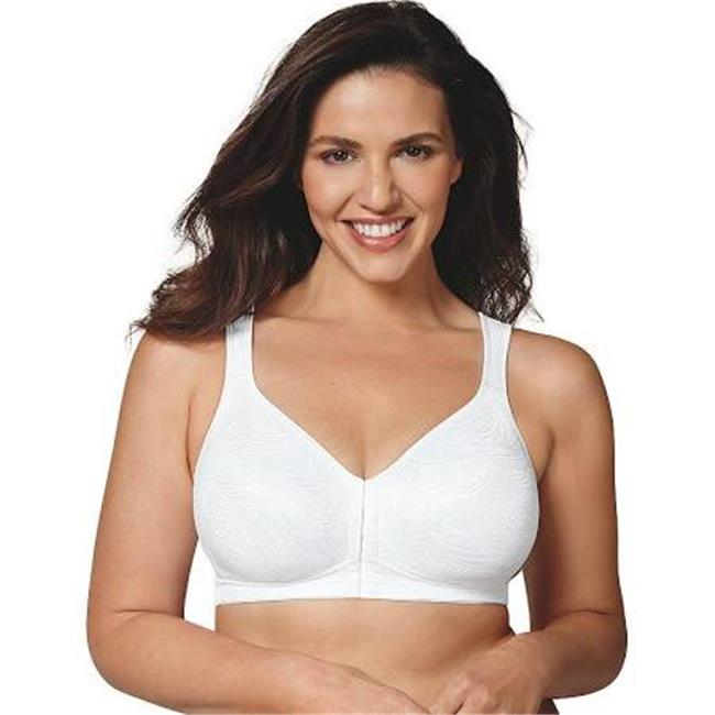 Playtex 00617914021498 18 Hour Front Close Posture Bra - 46DD - image 1 of 1