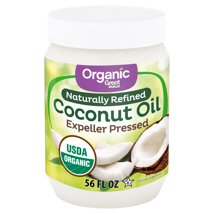 Coconut Oil: Great Value Organic Naturally Refined Coconut Oil