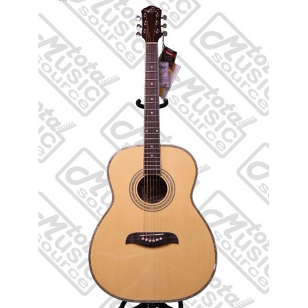 Oscar Schmidt OF2 Natural Folk Guitar in Select Spruce and Mahogany (Spruce Top Folk Guitar)