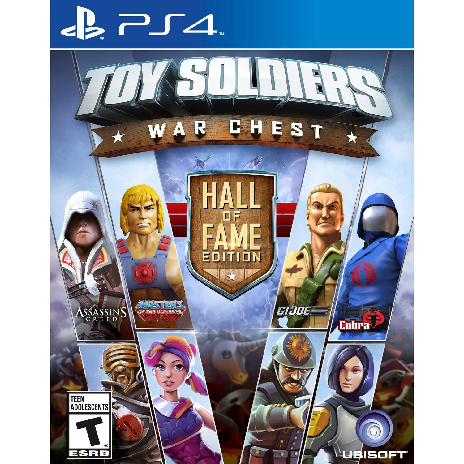 Toy Soldiers: War Chest Hall of Fame Edition, Ubisoft, PlayStation 4, 887256001339