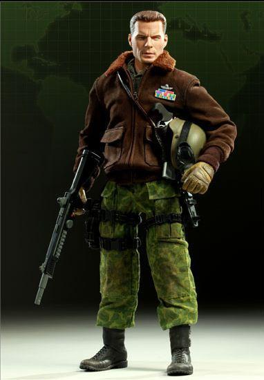 GI Joe Commander Hawk Collectible Figure by