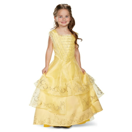 Belle Ball Gown Prestige Girls (Belle's Yellow Ball Gown Costume)