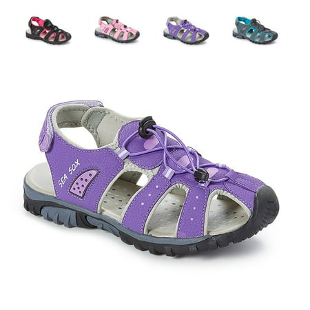 Ladies Womens Waterproof Hiking Sport Closed Toe Athletic (Best Waterproof Hiking Sandals)