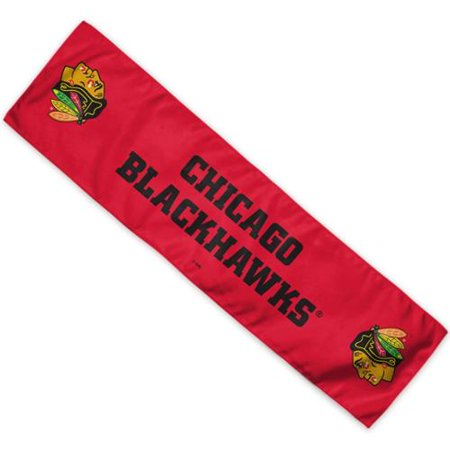 Chicago Blackhawks Official NHL 8 inch  x 30 inch  Cooling Towel by Wincraft