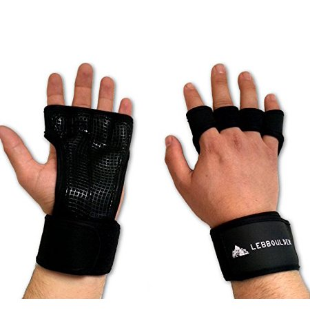 - Fitness Gloves for Weight Lifting with Wrist Wrap Strap