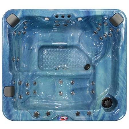 5-Person 37-Jet Lounger Spa with Bluetooth Stereo System, Subwoofer and Backlit LED