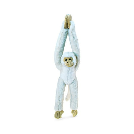 Puzzled Long Arm Hanging White Squirrel Monkey Super-Soft Stuffed Plush Cuddly Animal Toy - Animals / Wild Animals / Zoo Animals Theme - 21 INCH - Unique huggable loveable New friend Gift - Item #5356 (Colorful The Squirrel Owl Monkeys)