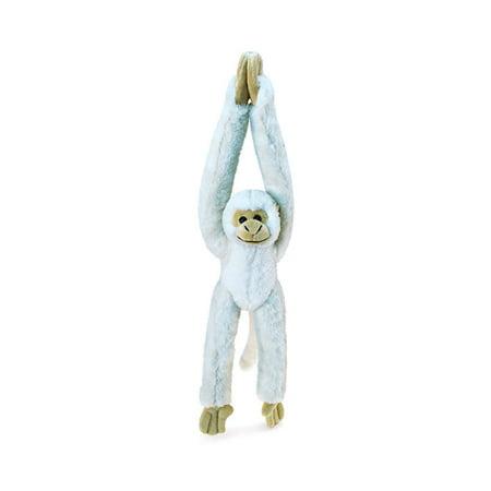 Akc Plush Squirrel (Super Soft Plush Long Arm Hanging White Squirrel Monkey)