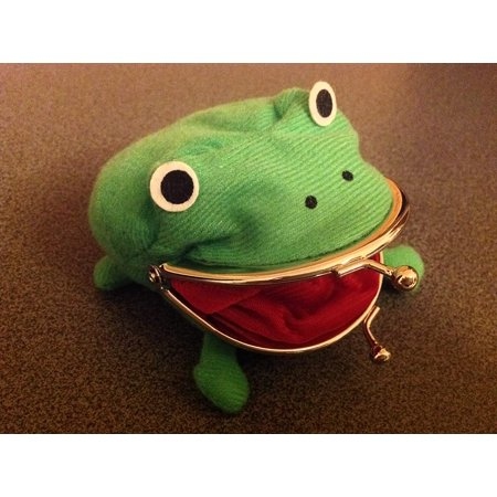 Naruto Frog Plush Coin Purse Wallet ()